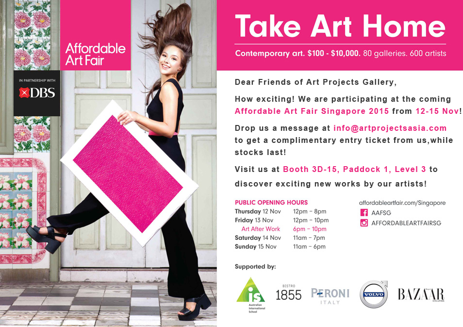Affordable Art Fair Singapore 2015